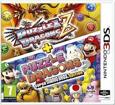 Puzzle and Dragons Z + Puzzle and Dragons Super Mario Bros For UK 3DS (New)