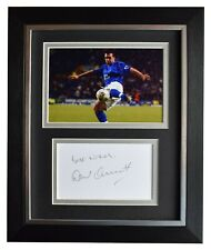 David Unsworth Signed 10x8 Framed Autograph Photo Display Everton Football COA