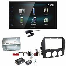 Kenwood DMX-120BT USB 2-DIN Bluetooth Autoradio MP3 Einbauset für Mazda MX-5 NC