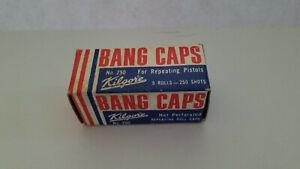 Rare Kilgore Bang Cap Repeating Roll Sealed in Box