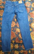VTG 501 Levi's XX Jeans 90's Straight Leg Red Tab Button Fly Distressed 32x35 #S