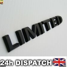 Limited Badge Emblem ABS Black Logo Car Sticker For Jeep