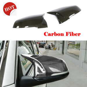 For BMW F52 X1 F48 F49 16-19 Carbon Fiber Side Mirror Covers Cap Replacement