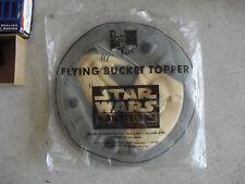 KFC Star Wars Frisbee Droid Flying Bucket Topper NIP