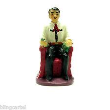 Jesus Malverde Small Catholic Narco Saint Miniature 1.75 Inch Collectible Statue