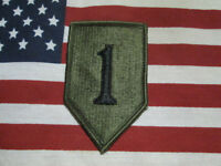 US ARMY 1ST INFANTRY DIVISION SUBDUED SHOULDER PATCH M/E