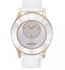 STUNNING! Swarovski OCTEA Classica Asymmetric White/rose Gold Watch.£349