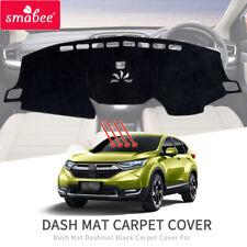 Car Dashmat Black Carpet Cover For Honda CRV CR-V 2017 2018 2019 Sun Shade Mats