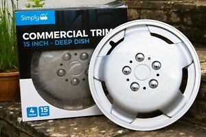 """Simply 15"""" Deep Dish CommercialWheel Trims"""