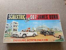 Scalextric original James bond 007 set box no cars nice original  condition