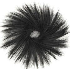 Hair Extension Scrunchie Dark Chestnut Brown 21 in 2 peruk