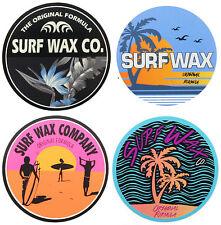 The Surf Wax Company Genuine Surf Stickers
