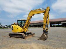 2010 Komatsu PC88MR-8 Hydraulic MIDI Excavator Track Hoe Diesel Tractor machine