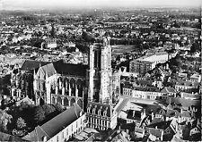 BR5441 Tryes vue aerinne de la cathedrale  france