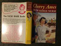 Cherry Ames #14, Dude Ranch Nurse, Julie Tatham, DJ, Dust Jacket