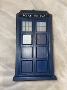 Vintage Retro Dr Who Large Tardis BBC 1963 Police Phone Box With Light And Sound