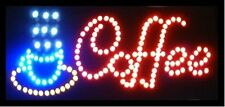 Ultra Bright LED Neon Light Animated Motion COFFEE Business Sign L18