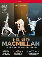 Kenneth MacMillan - Three Ballet Masterpieces [Tamara Rojo; Carlos[Region 2]