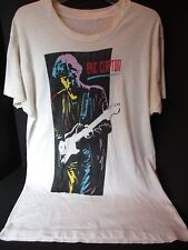 VTG~1st LEG CITIES ERIC CLAPTON 1990 JOURNEYMAN~WORLD TOUR~USA~T-SHIRT OFFICIAL