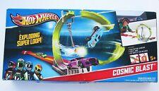 Hot Wheels Cosmic Blast Loop Race Track Playset Launcher 2012 NEW in Box