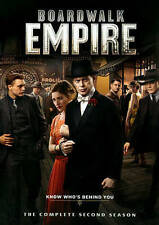Boardwalk Empire: The Complete Second Season (DVD, 2014, 5-Disc Set) 2nd NEW 57A