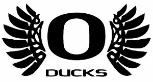 """Oregon University  Decal """"Sticker"""" for Car or Truck or Laptop"""