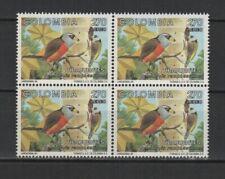 Colombie 1994 oiseaux Le Cabézon toucan bloc de 4 timbres neufs MNH /TR8361