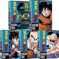 Dragon Ball: Seasons 1-5  (DVD) Complete Series 1 2 3 4 5 Dragonball