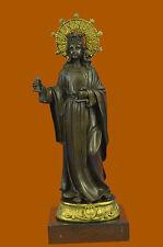 Religious Queen Saint Elizabeth of Aragon / Church Great Bronze Sculpture statue