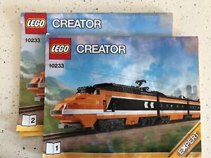 Lego Creator 10233 Horizon Express - 2 (out of 3 ) INSTRUCTION BOOKS ONLY !