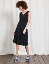 Boden Black Georgia Jersey Dress Size UK 18 LF076 BB 02