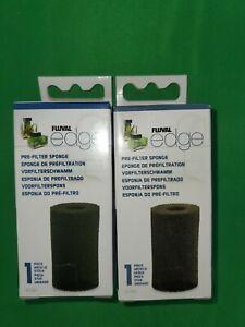 2 PK Fluval Edge Pre-Filter Sponge