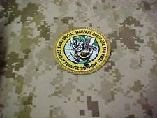 US NAVY SEAL COMBAT SEABEE SUPPORT TEAM ONE DEPLOYMENT PATCH