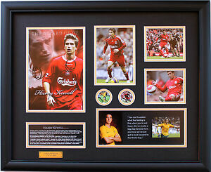 New Harry Kewell Signed Limited Edition Memorabilia Framed