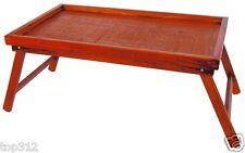 Bett Tablett Serviertablett Pinienholz Holztablett Frühstück Knie Tisch Servier