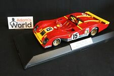 Profil 24 built kit resin Ferrari 312 PB 1:18 #15 24h Le Mans 1973 (PJBB)