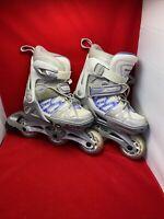 Girls Spitfire TwG  adjustable Inline Roller Blades Roller Skates Size UK 11-1