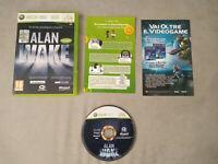 ALAN WAKE, MICROSOFT XBOX 360 / X BOX 360, PAL, EUROPEO