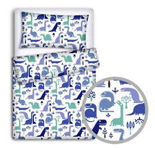 BABY BEDDING SET 2 3 4 5 6 PC PILLOWCASE DUVET COVER BUMPER Fit Cot Bed 140x70
