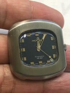 Vintage Movado Kingmatic  HS360 High Frequency 36000 BPH Men's Chronometer