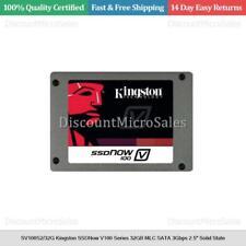 "SV100S2/32G Kingston SSDNow V100 Series 32GB MLC SATA 3Gbps 2.5"" Solid State"