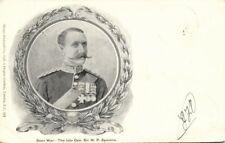BOER WAR, Late British General Sir W.P. Symons, Uniform Medals (1900) Postcard
