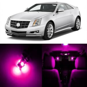 19 x Pink LED Interior Light Package For 2008 - 2013 Cadillac CTS CTS-V + TOOL