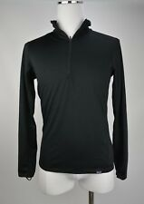 Patagonia CAPILENE Midweight Zip Neck - NEW Medium Black **SALE**