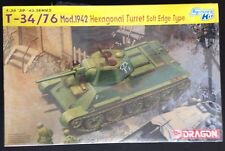 Dragon/DML 1/35 kit#6424 T-34/76 Mod.1942,Hexagonal Turret Soft Edge;free Oz P&H