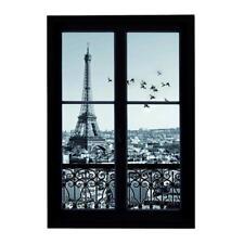 Stickers Paris Muraux 3D Autocollant Adhésif Art Deco Chambre d'enfant