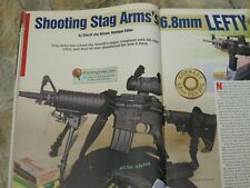 SHOOTING TIMES TESTS THE STAG ARMS AR 6.8, BROWNING A-BOLT, KAHR CW-9