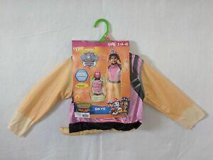 Paw Patrol Skye Dino Rescue Girls Costume Size Small (4-6) Rubies