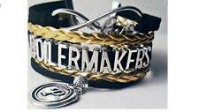 LOT OF 10 ~ Purdue Boilermakers Bracelet Jewelry ~ NCAA Vendor Events in Indiana