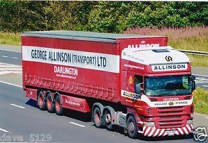 Truck Photo: George Allinson Transport - Scania R420 - NK56 BDF - Darlington